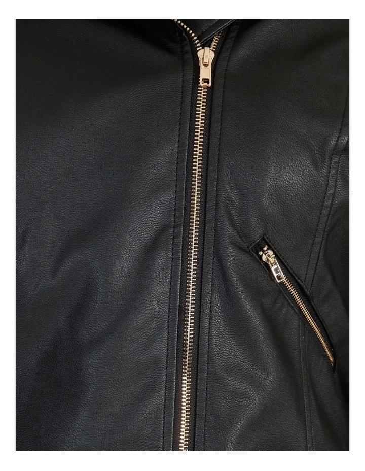 Faux Leather Biker Jacket image 5