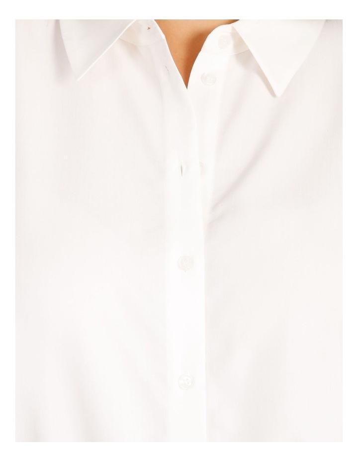 Curve Power Shoulder Modal Blend Shirt image 5