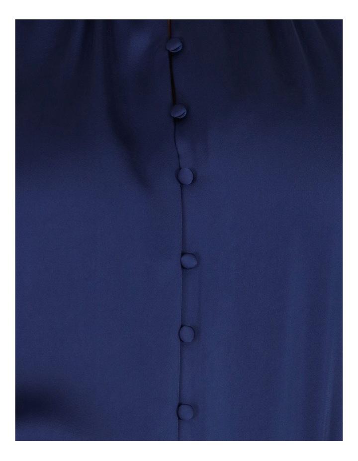 Button Detail Satin Blouse image 6