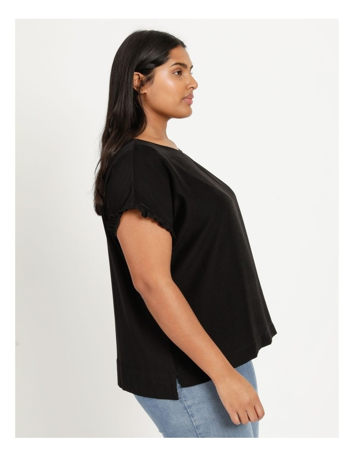Frill Sleeve Relaxed Top image 4
