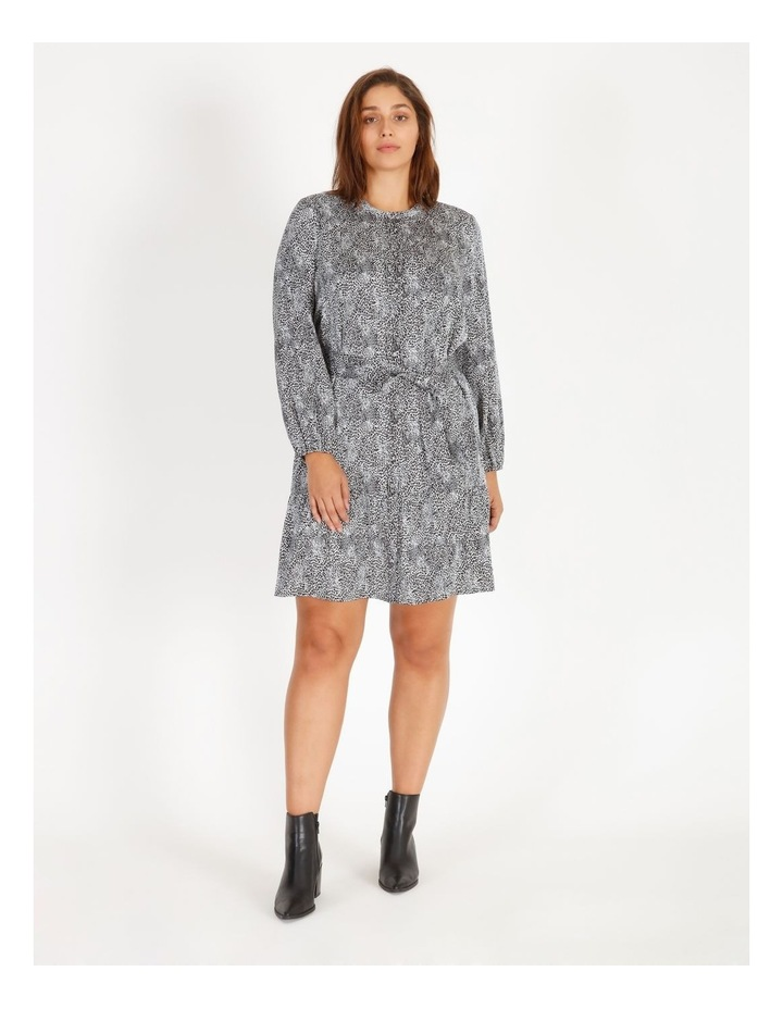 Satin Mini Shirt Dress image 1