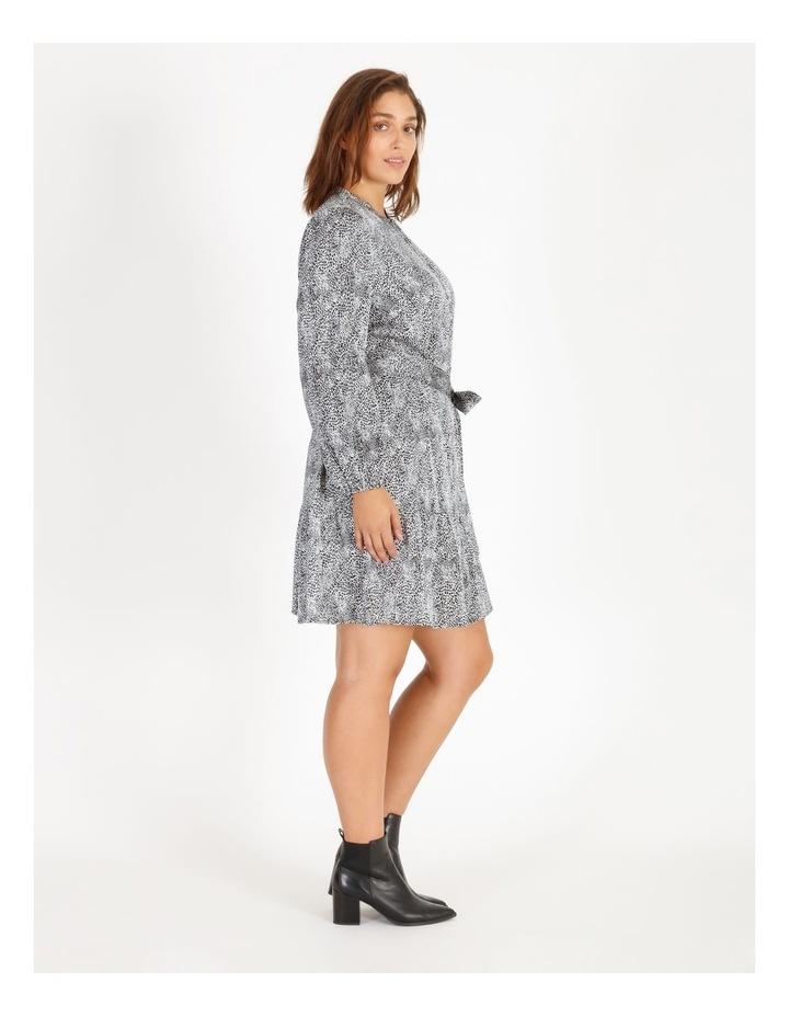 Satin Mini Shirt Dress image 2