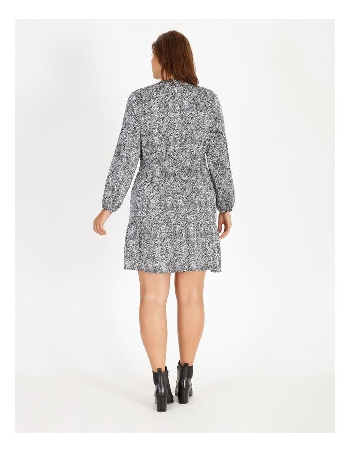 Satin Mini Shirt Dress image 3