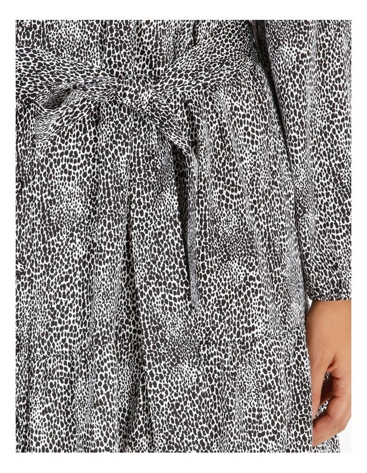 Satin Mini Shirt Dress image 4