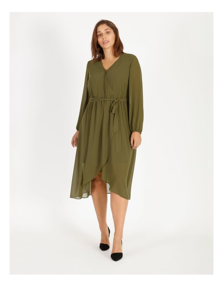 Pleat Mini Dress image 1