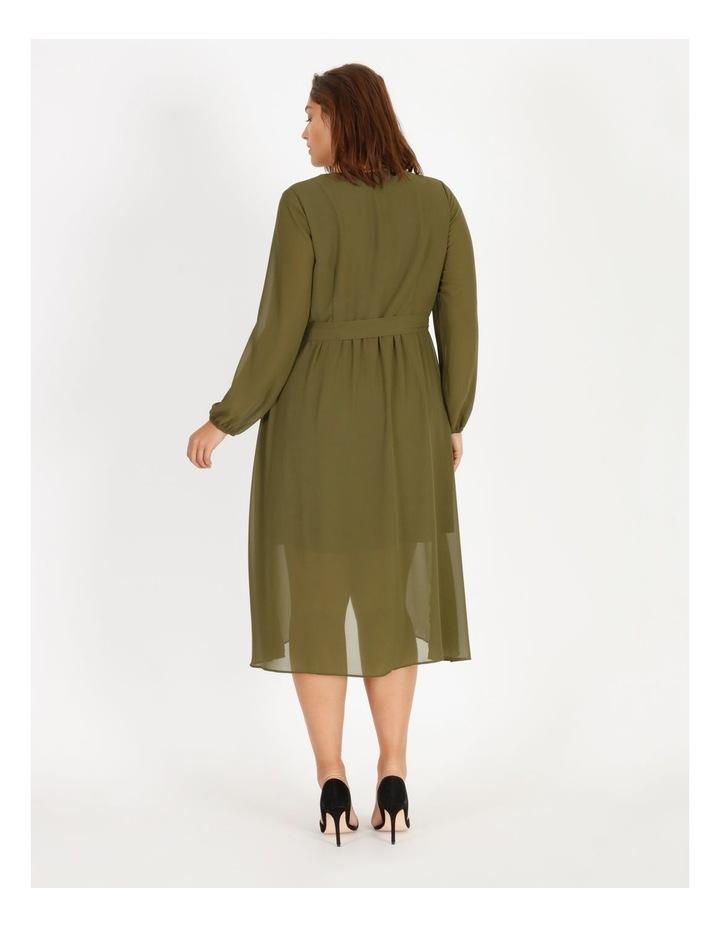 Pleat Mini Dress image 3