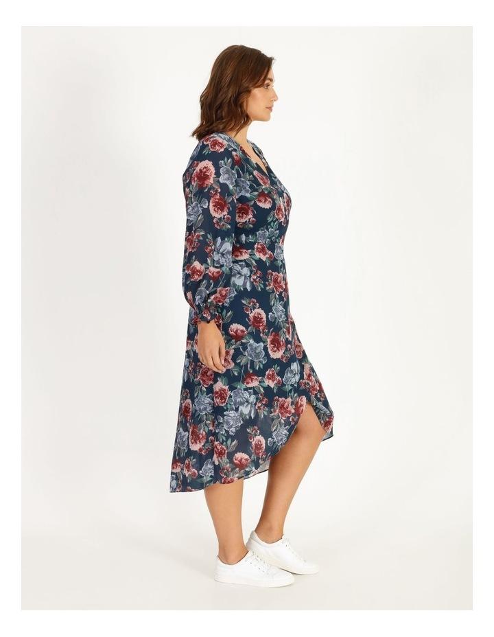 Long Sleeve Wrap Dress image 2