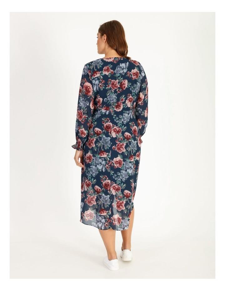 Long Sleeve Wrap Dress image 3