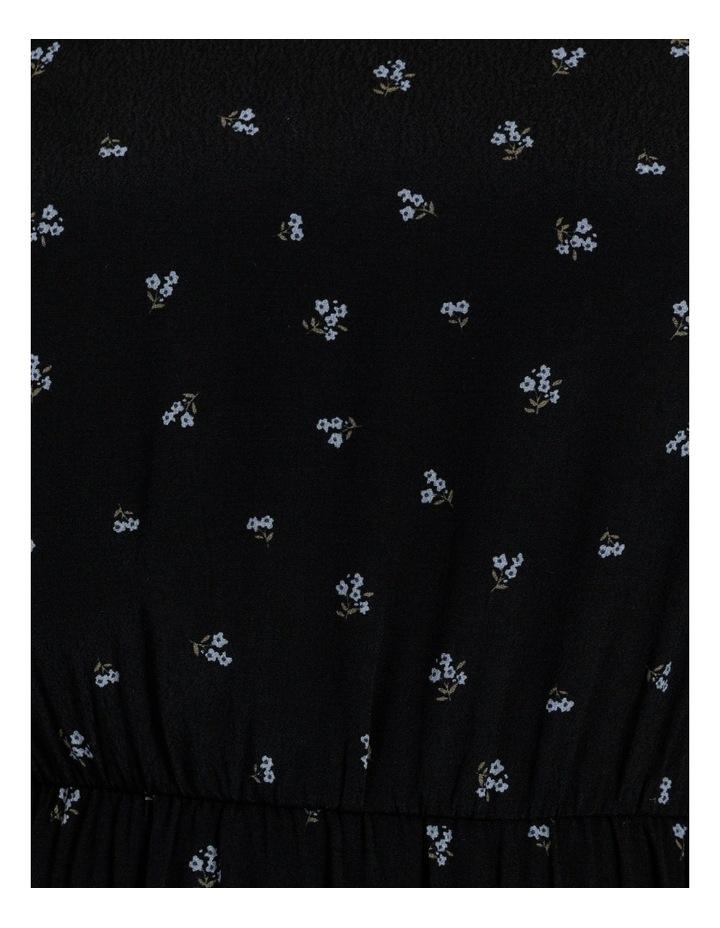 Curve Blouson Sleeve Midi Dress image 6