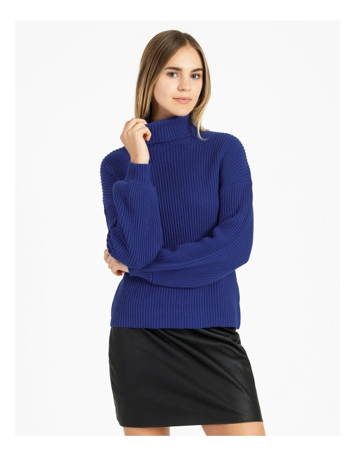 High Neck Wool Blend Sweater image 4