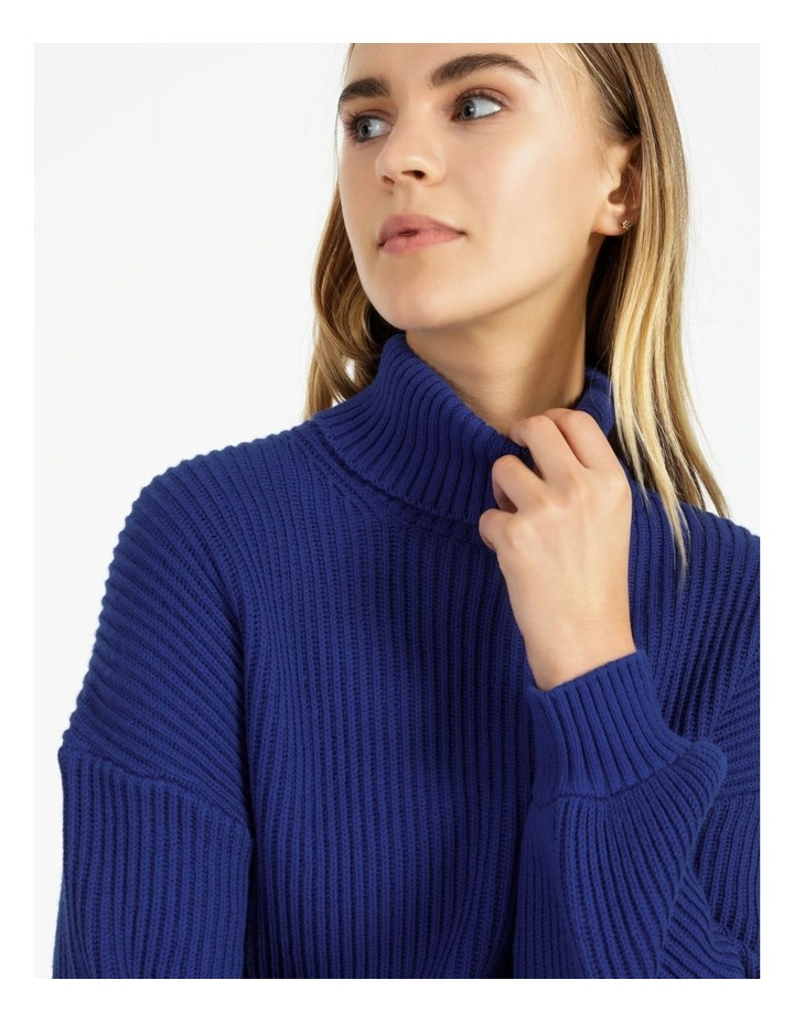 High Neck Wool Blend Sweater image 5