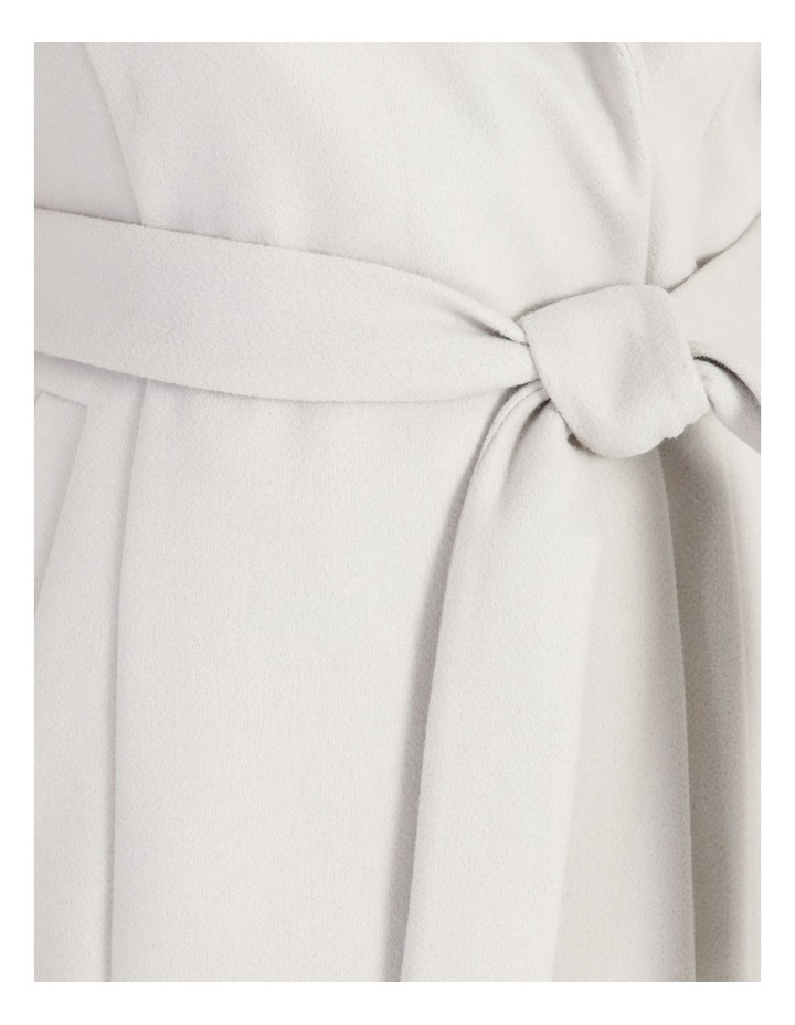 Grey Wrap Coat image 7