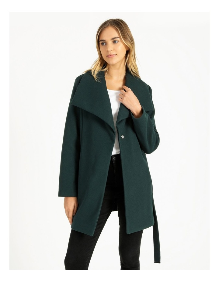 Wrap Coat Emerald image 1