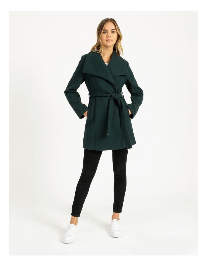 Wrap Coat Emerald image 2