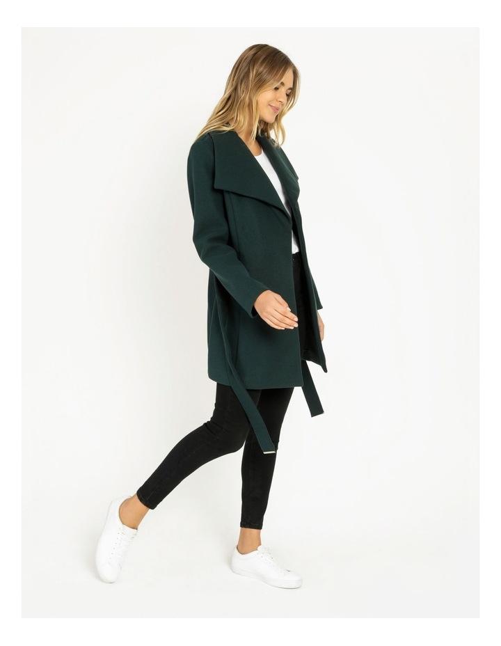 Wrap Coat Emerald image 3