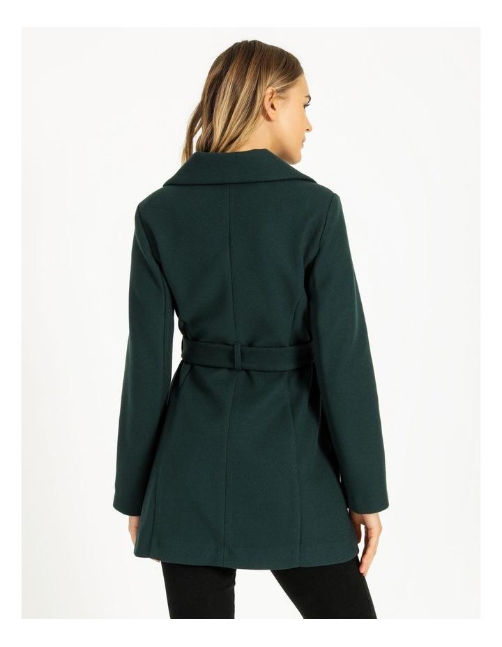 Wrap Coat Emerald image 4