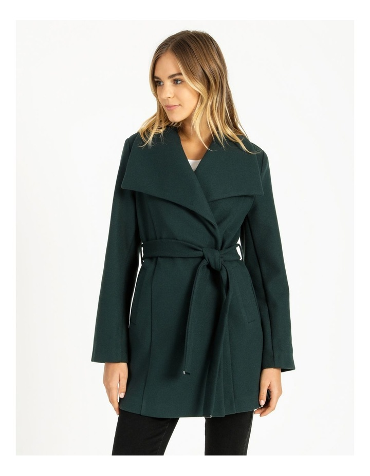 Wrap Coat Emerald image 5