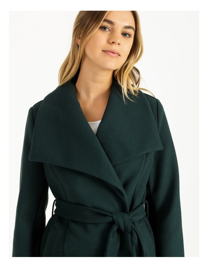 Wrap Coat Emerald image 6