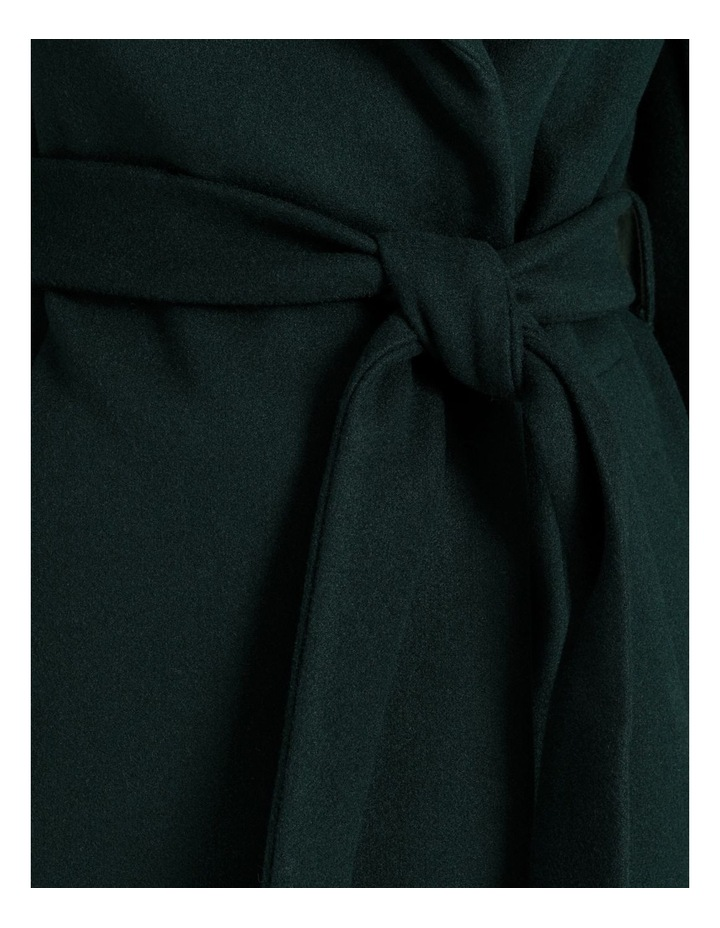 Wrap Coat Emerald image 7