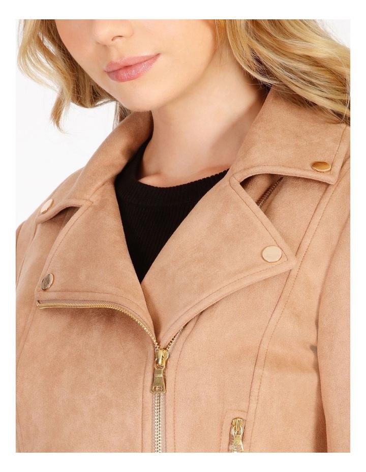 Suedette Biker Jacket image 4