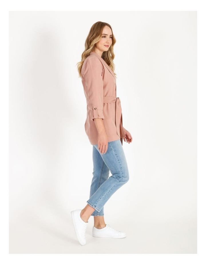 Soft Wrap Jacket With Tie image 2