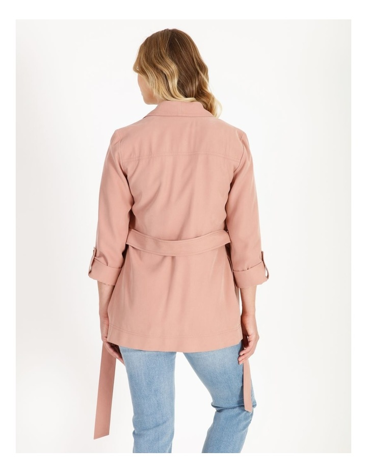 Soft Wrap Jacket With Tie image 3