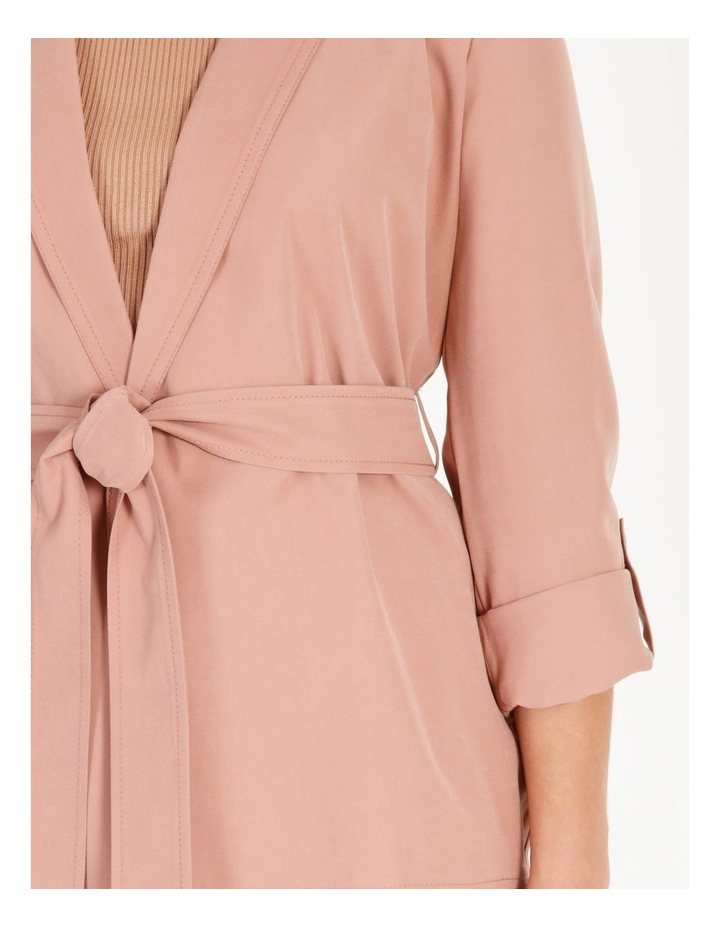 Soft Wrap Jacket With Tie image 4