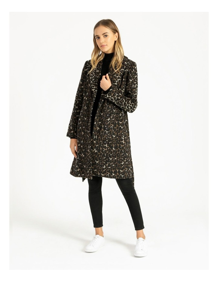 Tie Waist Wrap Coat image 4