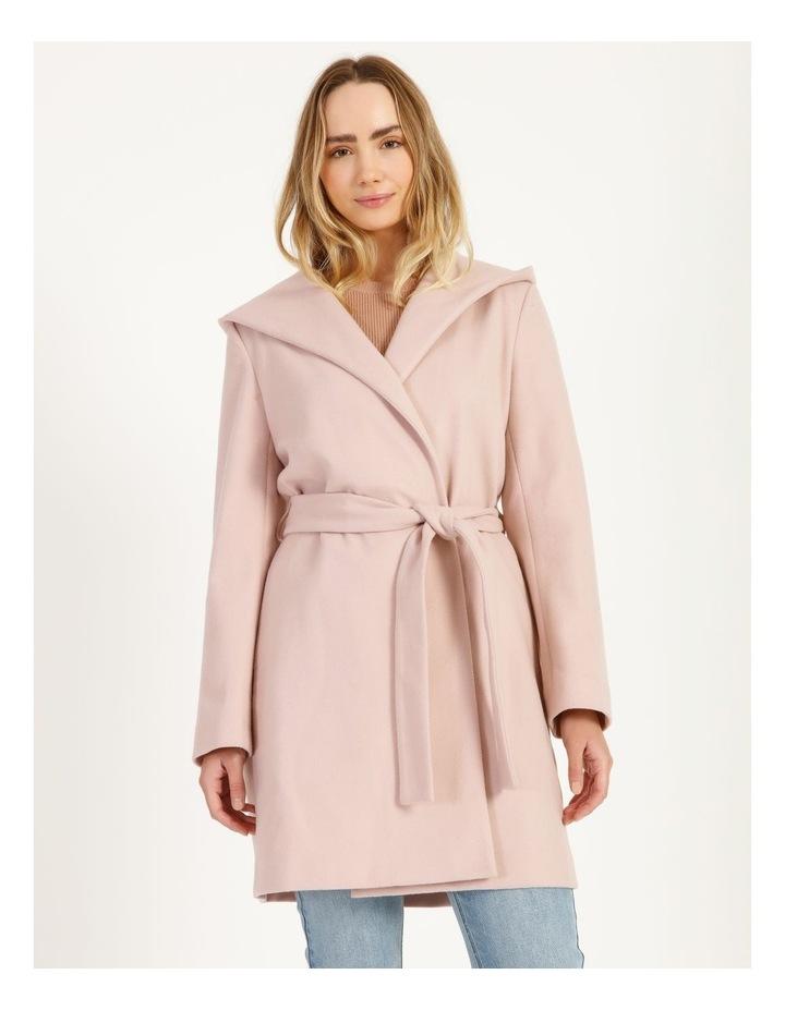 Wrap Coat With Hood image 1