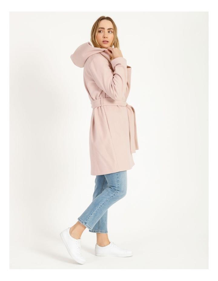 Wrap Coat With Hood image 2