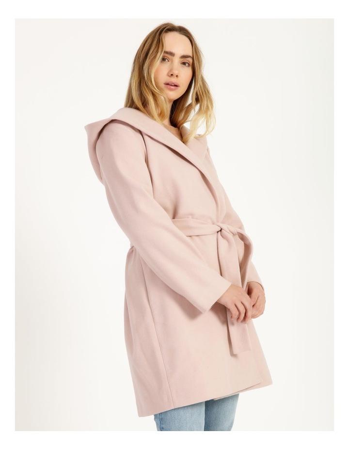 Wrap Coat With Hood image 3