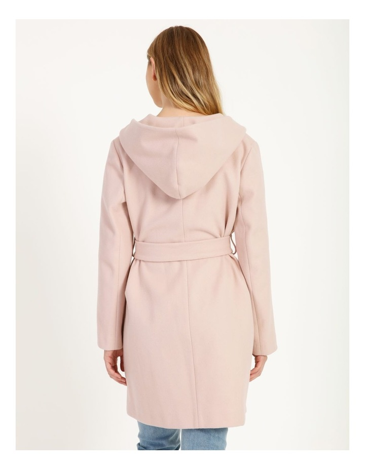 Wrap Coat With Hood image 4