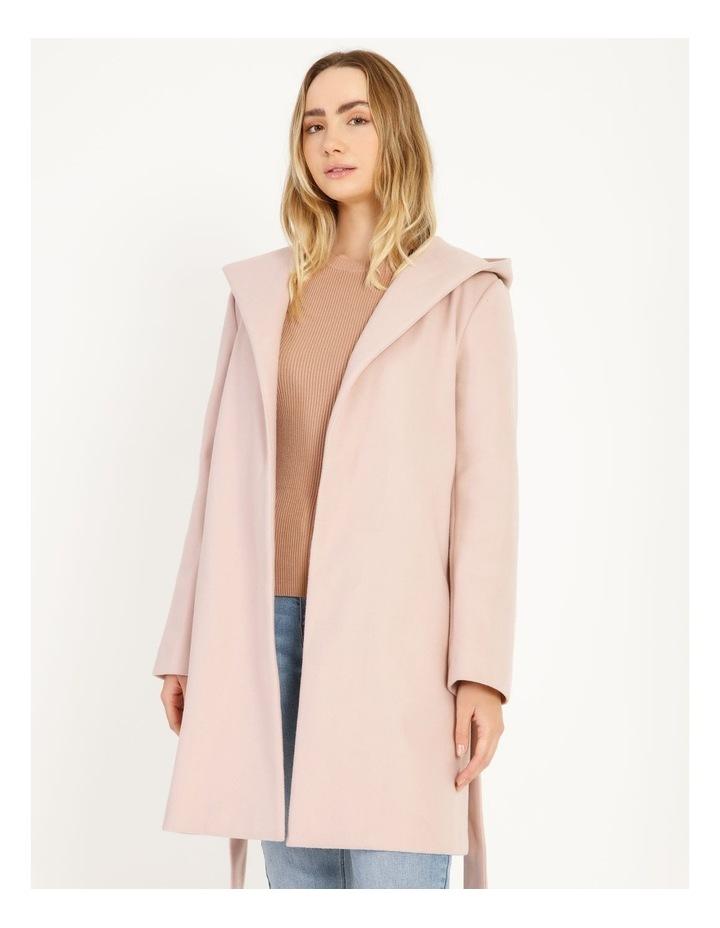 Wrap Coat With Hood image 5
