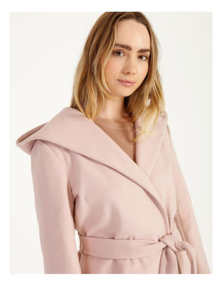 Wrap Coat With Hood image 6