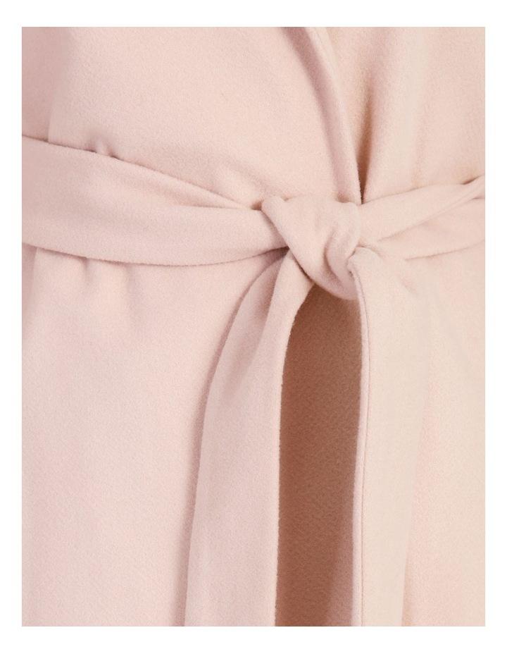 Wrap Coat With Hood image 7