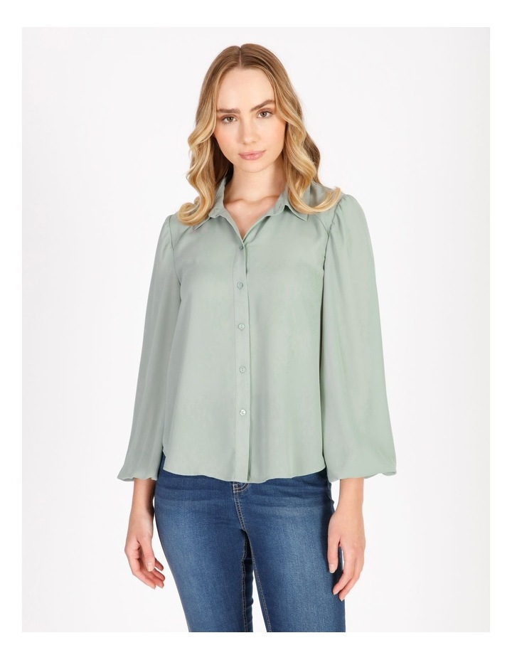 Blouson Sleeve Shirt image 1