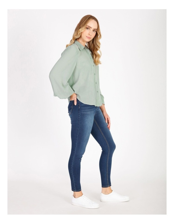 Blouson Sleeve Shirt image 2