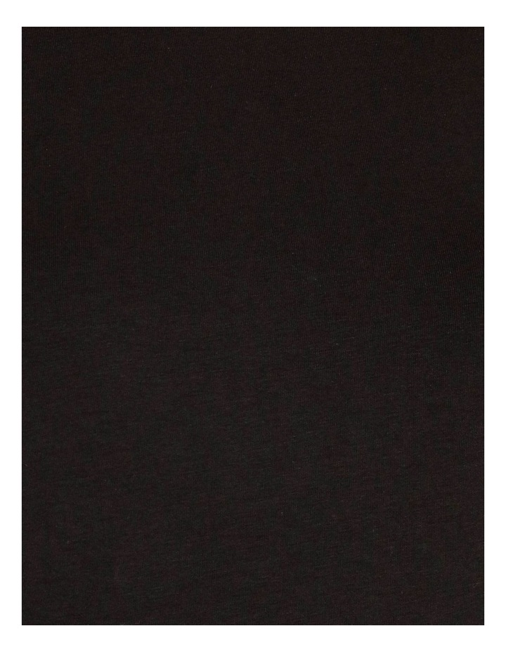 Puff-Sleeve Organic Cotton Blend Top image 5