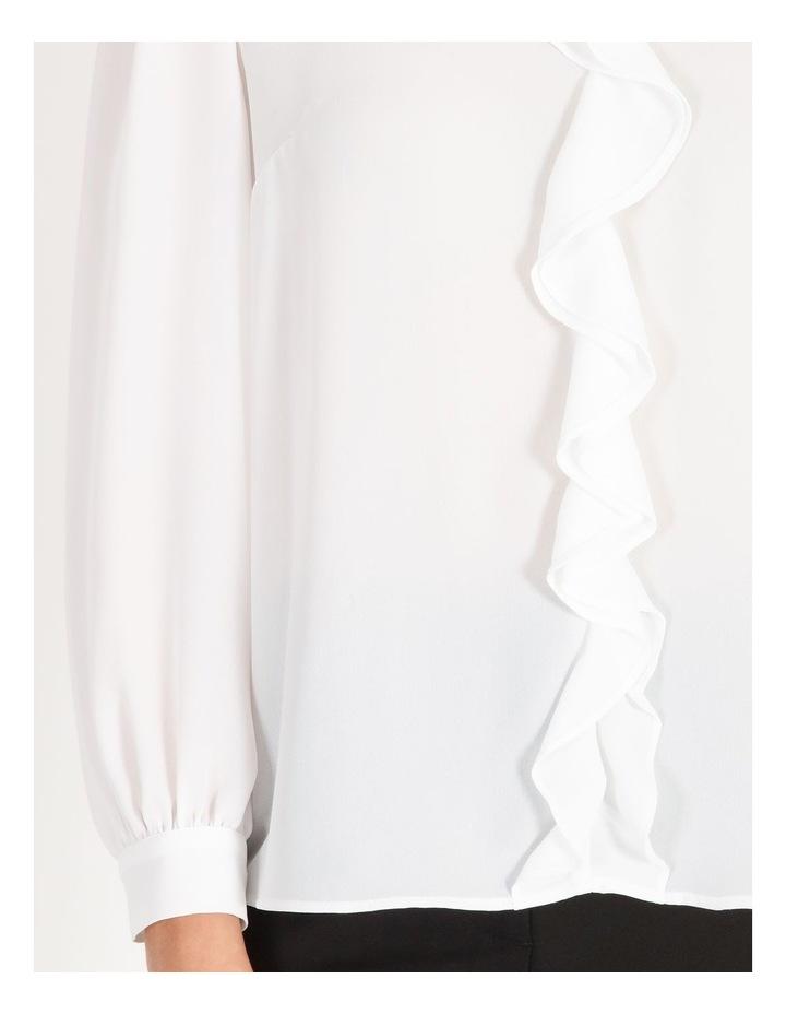 Ruffle-Front Blouse image 4