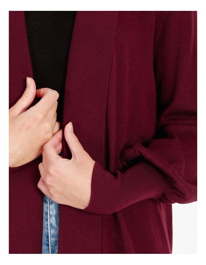 Blouson-Sleeve Cardigan image 5