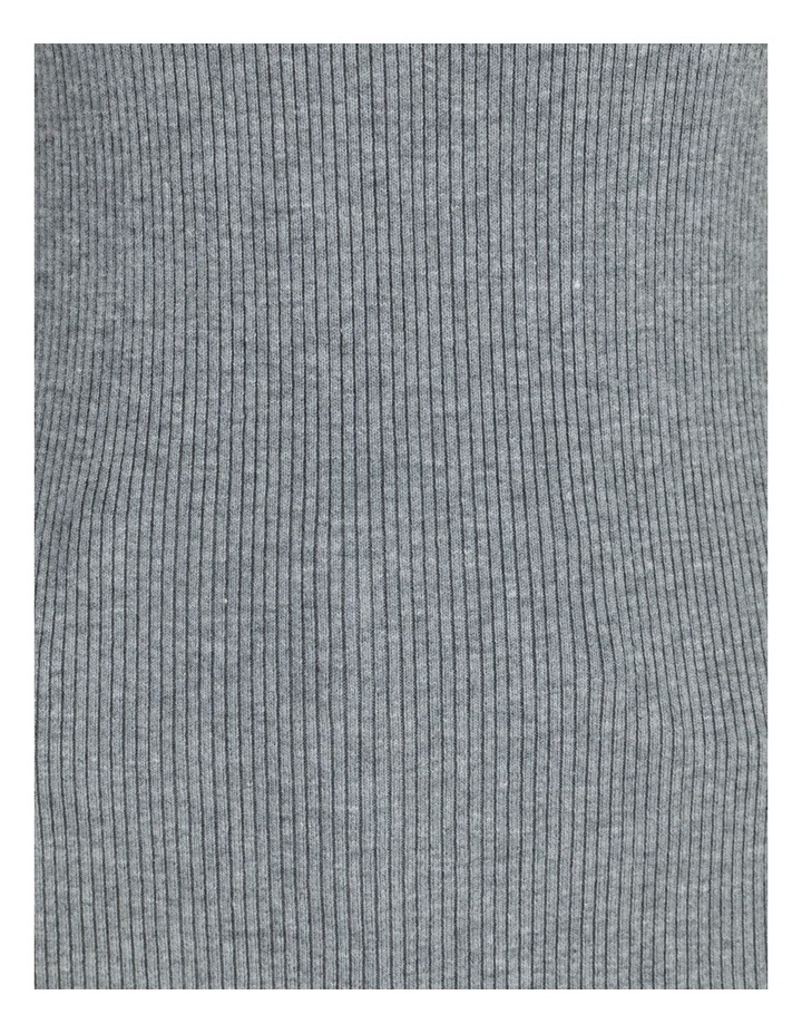 Blouson Sleeve Roll Neck Knitted Top image 5