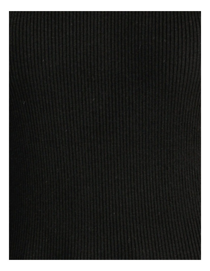 Blouson Sleeve Roll Neck Knitted Top image 6