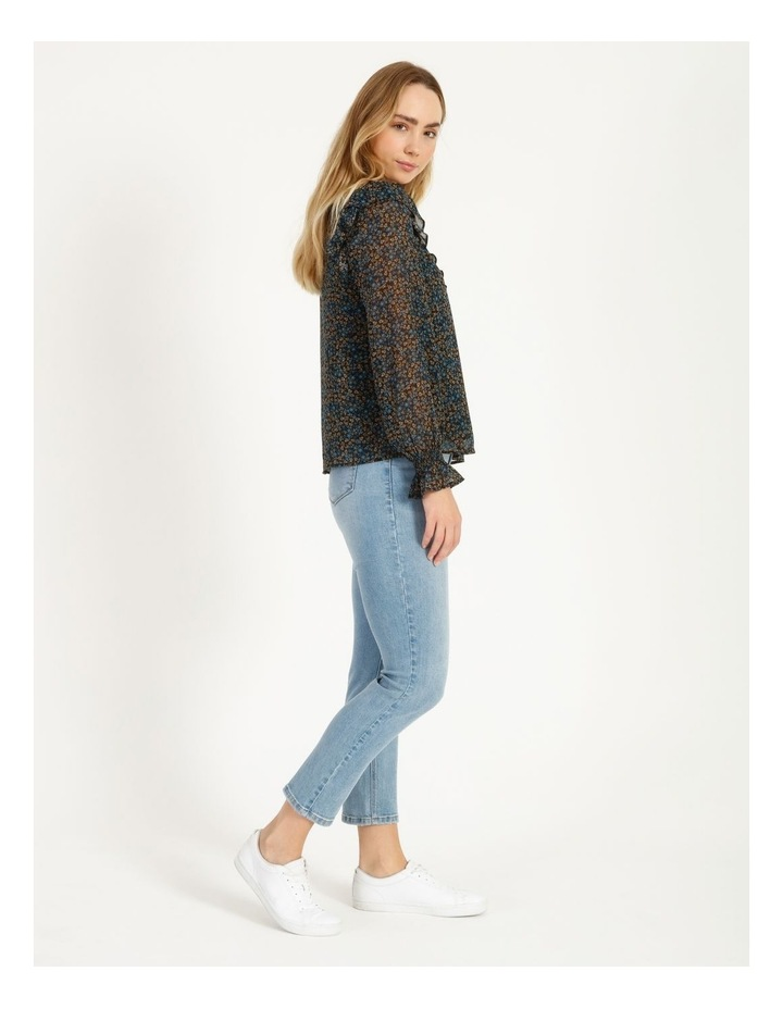Self Covered Button Blouse image 2