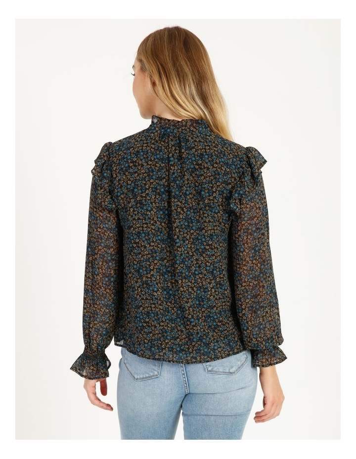Self Covered Button Blouse image 3
