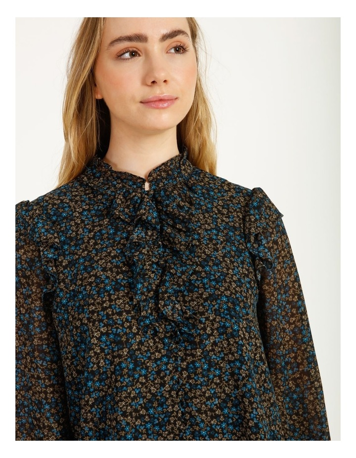 Self Covered Button Blouse image 5