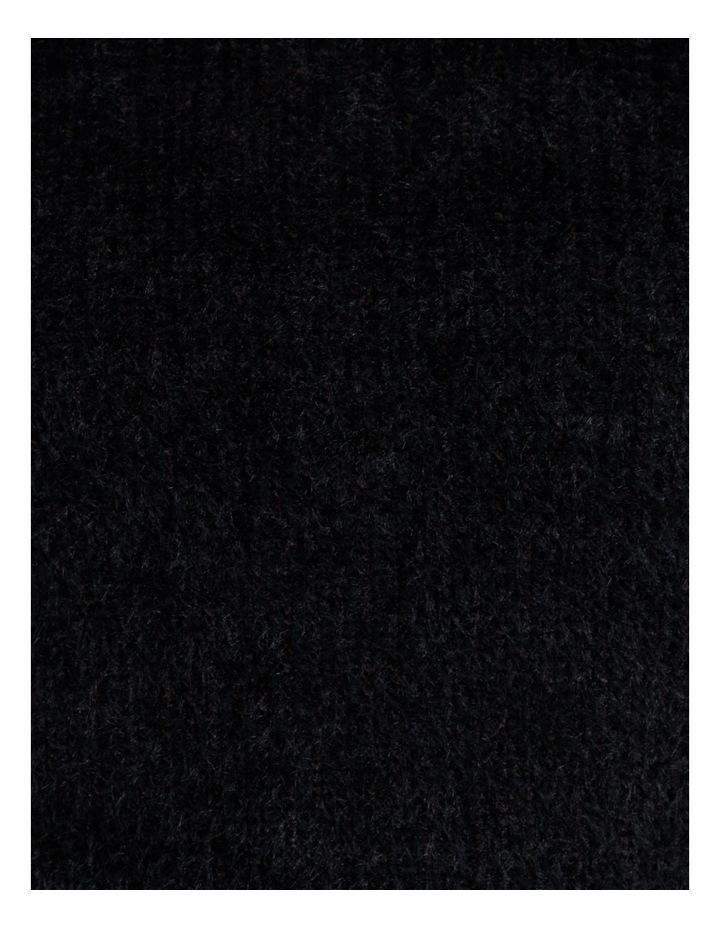 High Neck Soft & Fluffy Knit Top image 6