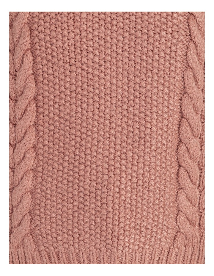 Crew Neck Cable Knit Jumper image 5