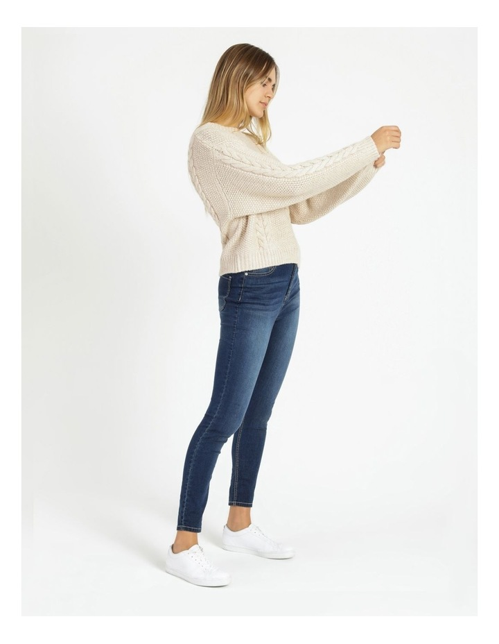 Crew Neck Cable Knit Jumper image 2