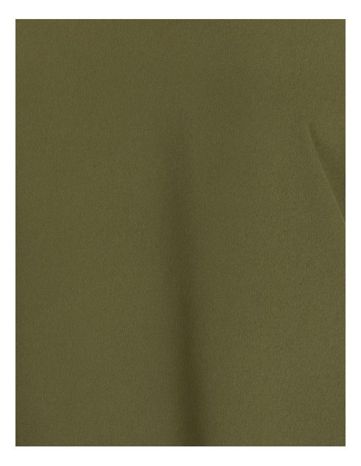 Spliced Sleeve Tab Tee Khaki image 6