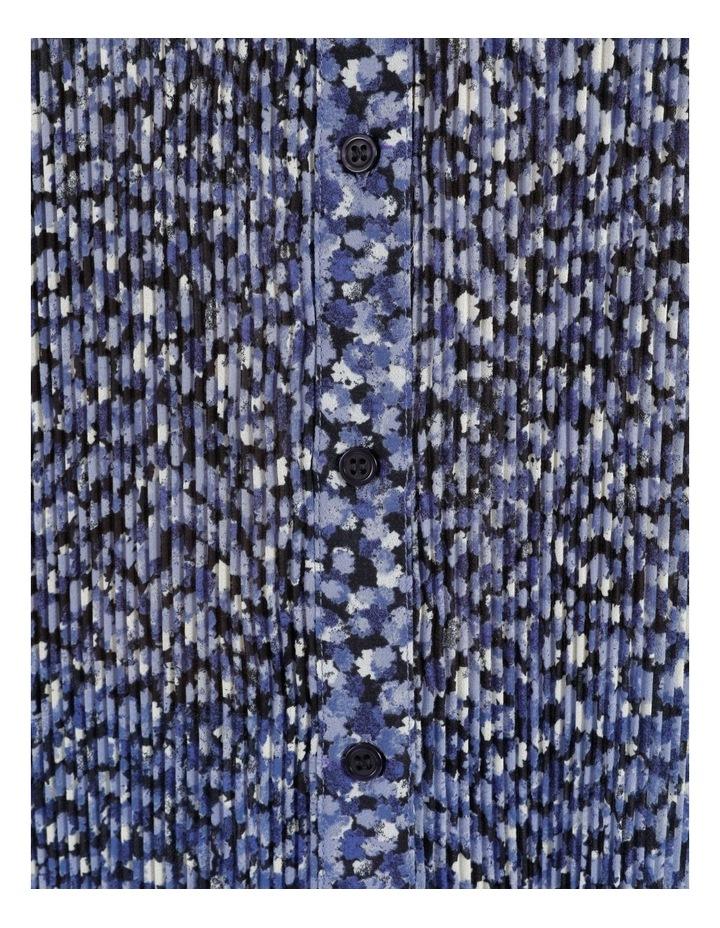 Pleat Detail Blouse Blue image 7